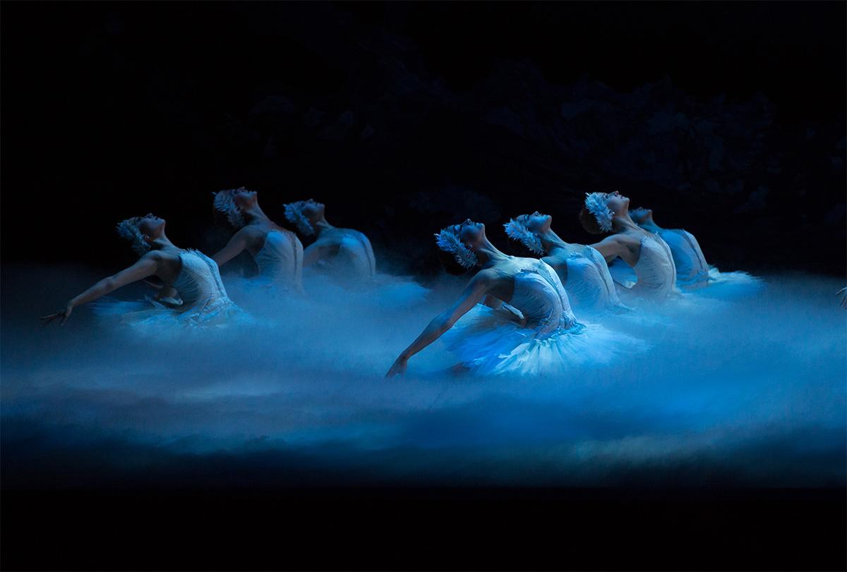 Boston Ballet in Mikko Nissinen's Swan Lake; photo by Rosalie O'Connor, courtesy of Boston Ballet