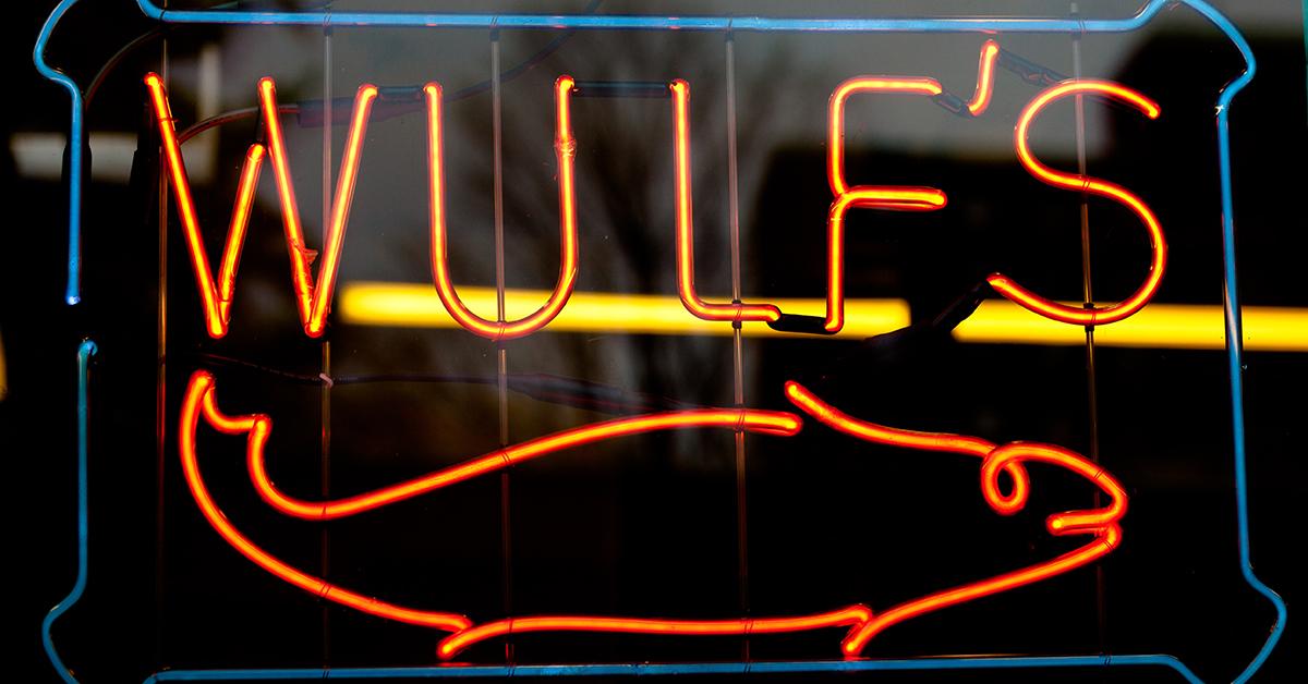 Wulf's Fish sign