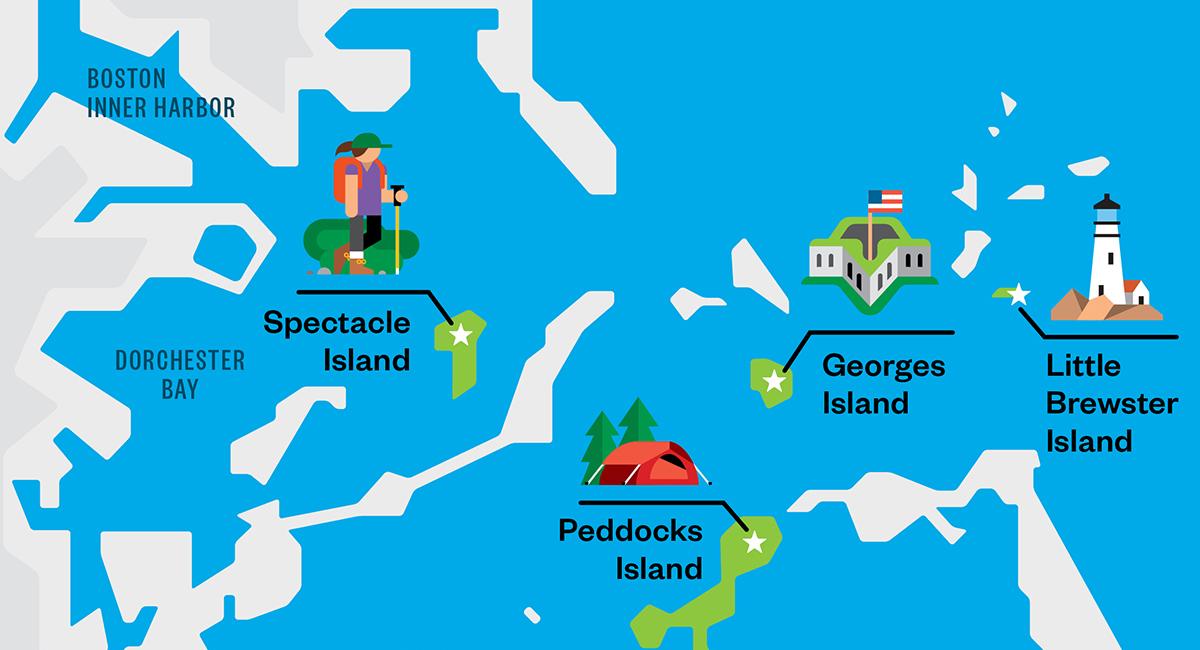 Map Of Block Island Restaurants