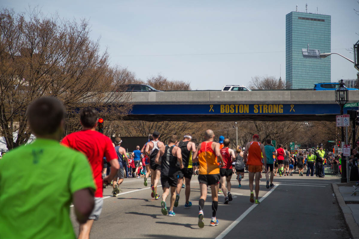 boston marathon 2016 boston strong bridge