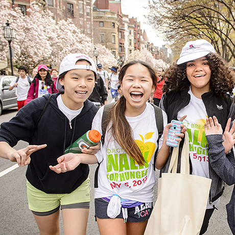 Project Bread - The Walk for Hunger - May 3, 2015