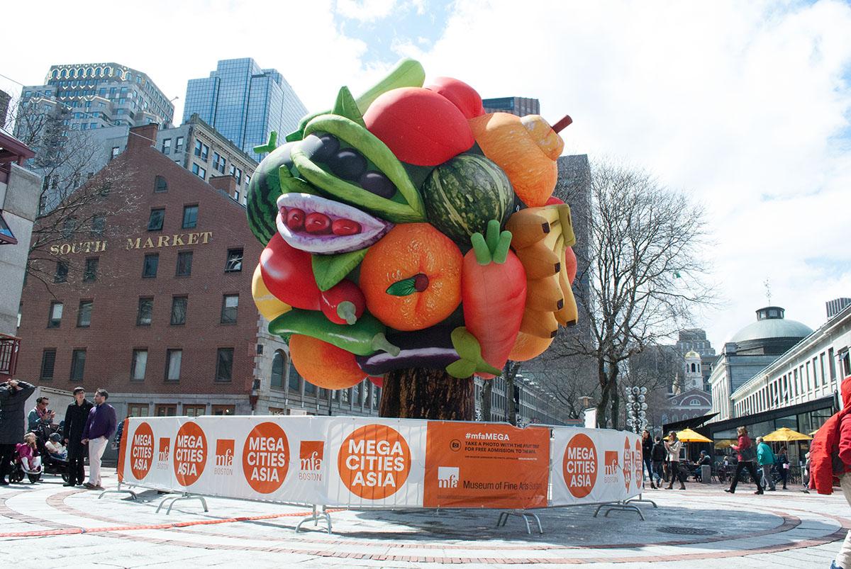 mfa boston fruit tree