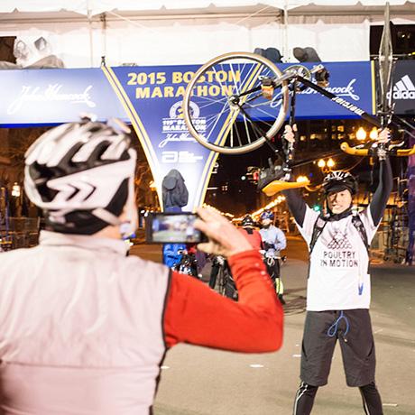 midnight marathon bike ride sq
