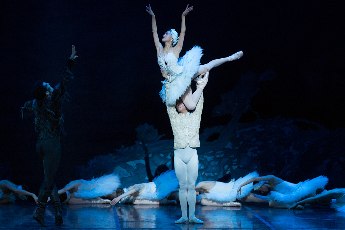 Misa Kuranaga Swan Lake Boston Ballet