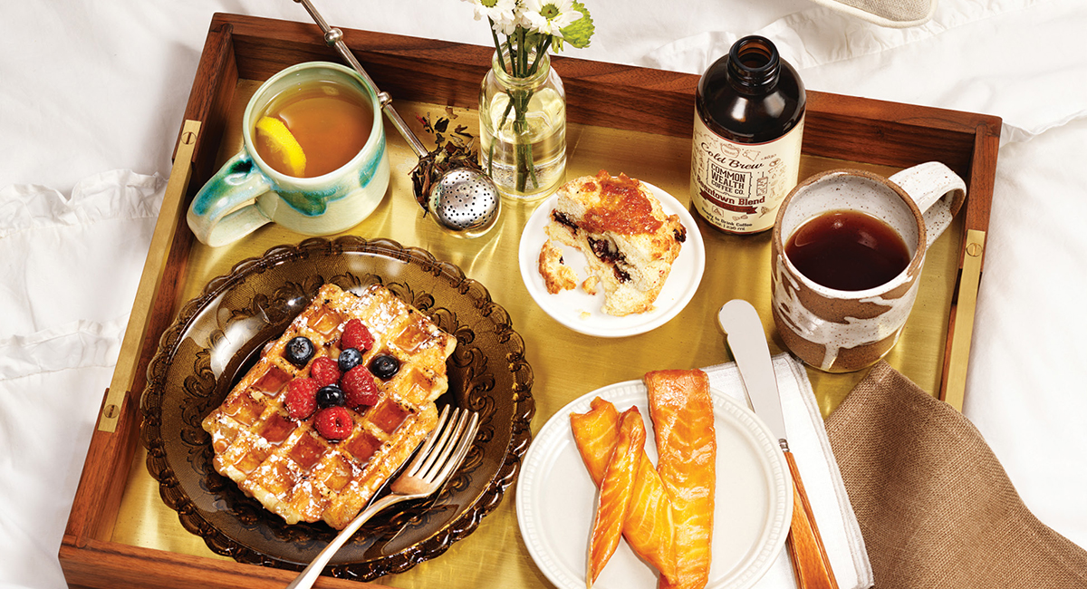 Breakfast in Bed, Better, with These Local Products - Boston Magazine