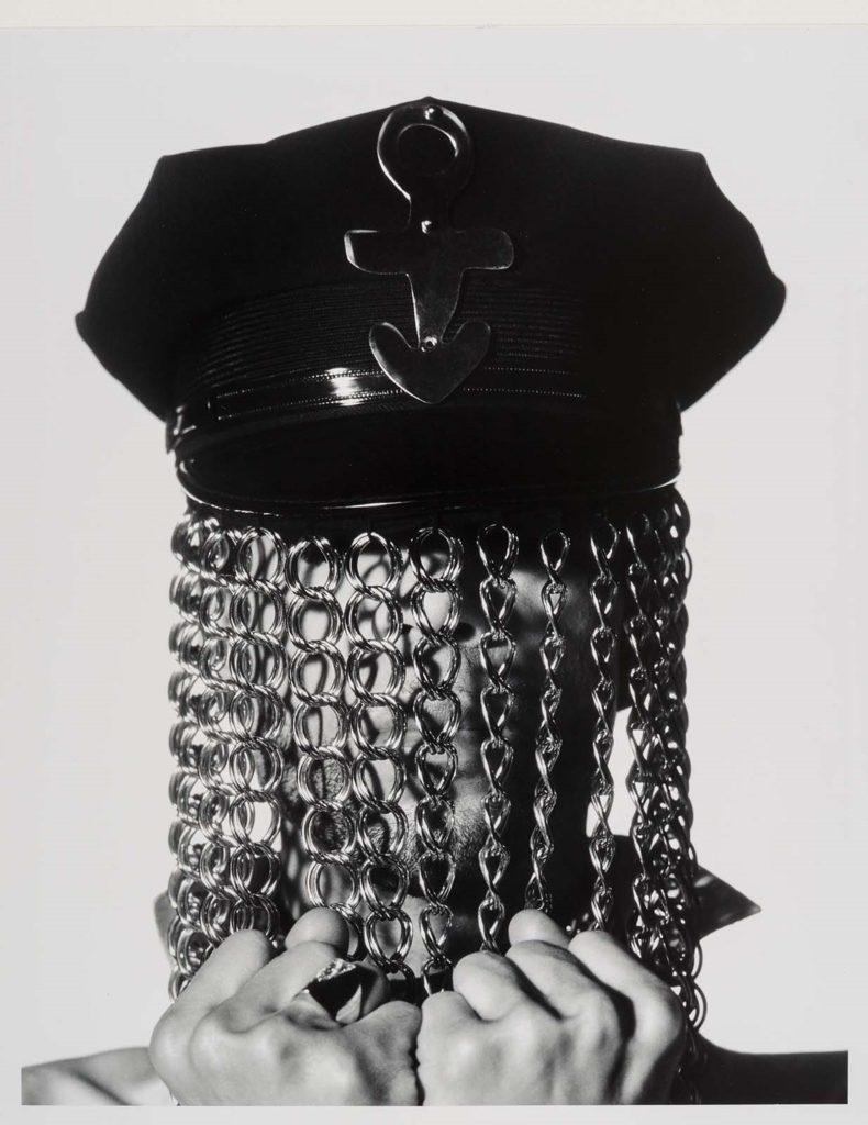Prince (Hat with Chains) Photo by Herb Ritts via Museum of Fine Arts