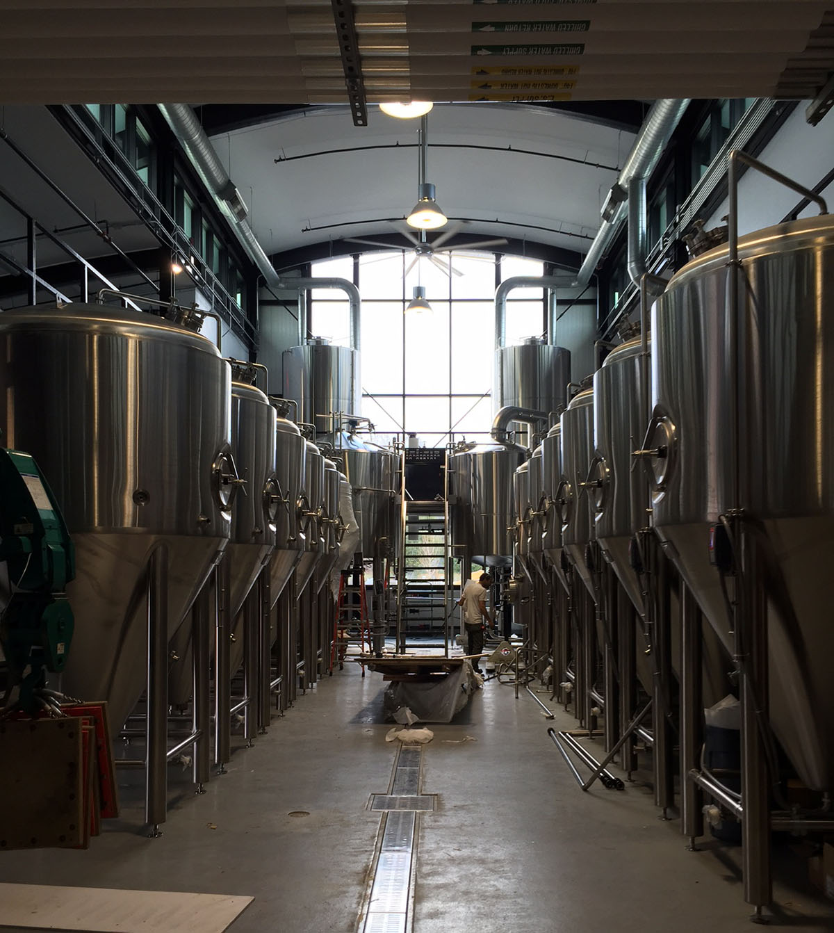 details on the alchemist brewery opening in stowe this the alchemist s new brewhouse in stowe vt
