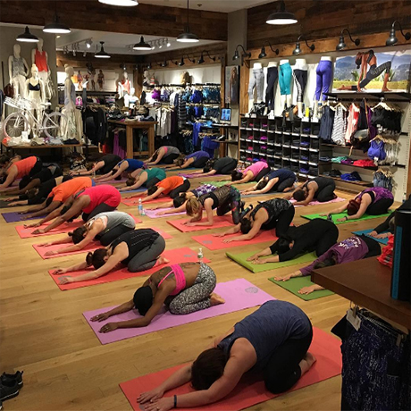 new style & luxury how to get buy best Seven Boston Stores with Free Fitness Classes