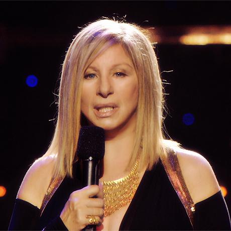 Barbra Streisand square