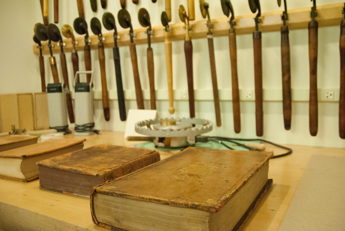 Boston Athenaeum Conservation Lab