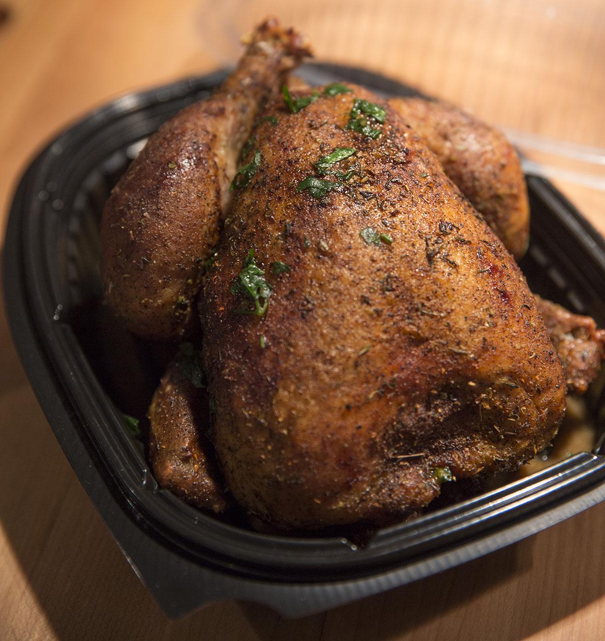 Rotisserie chicken to go from Branch Line