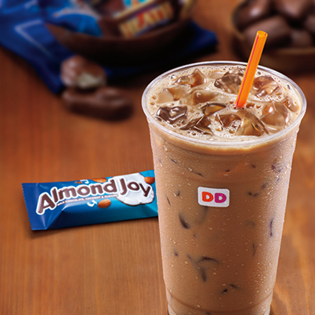 Dunkin Donuts Candy Flavored Iced Coffee square