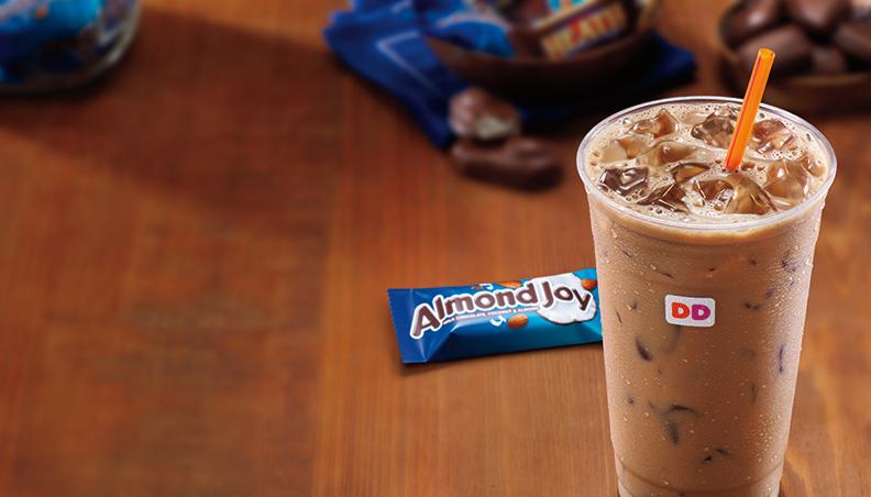 Dunkin' Donuts Almond Joy