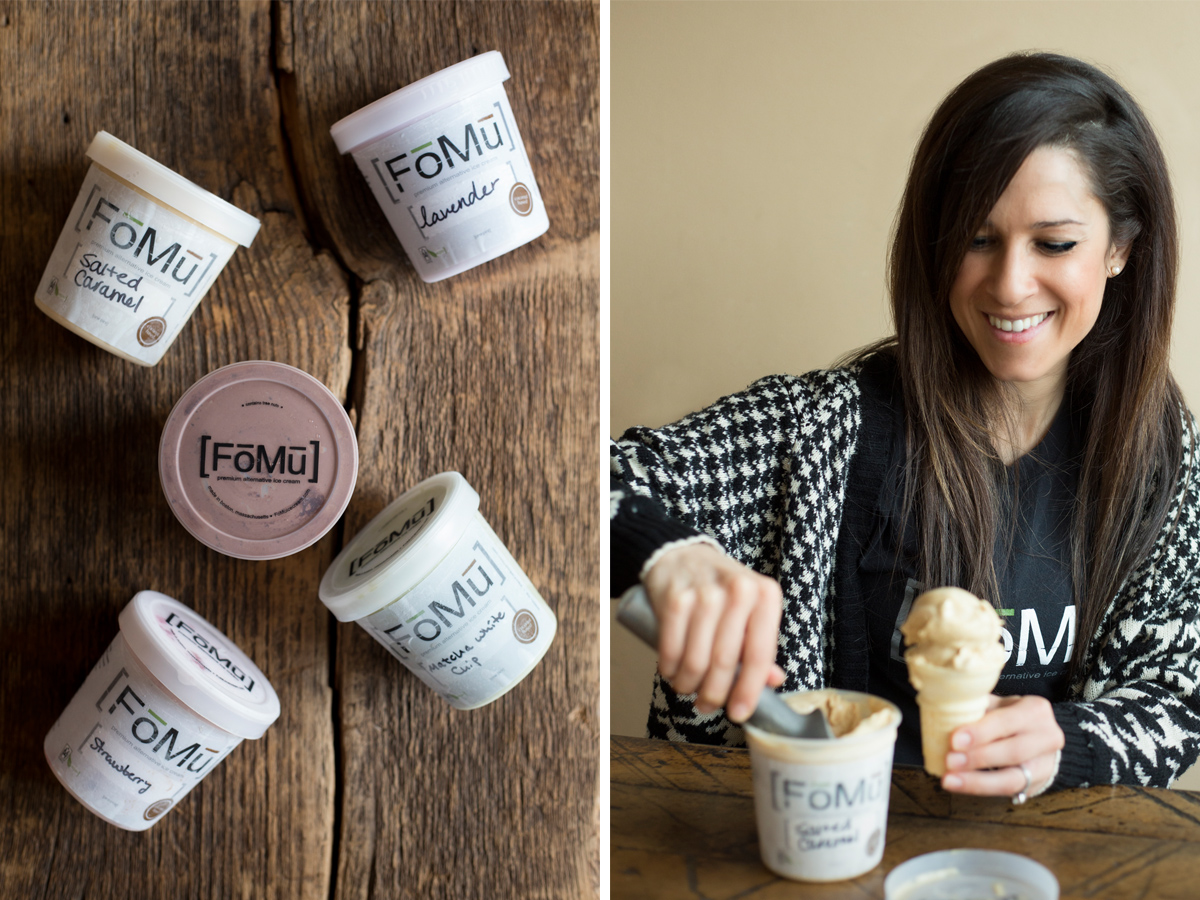 FoMu Alternative Ice Cream owner Deena Jalal