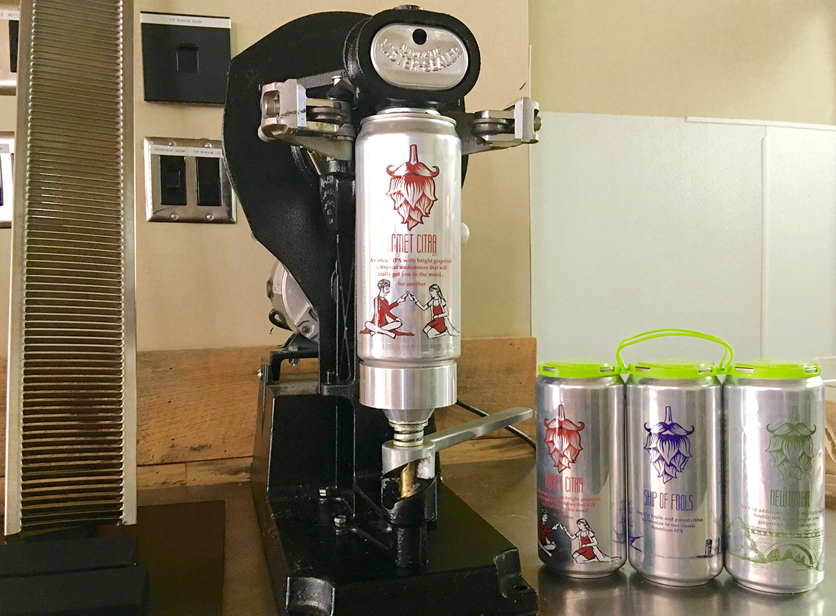 Crowlers at Hopsters