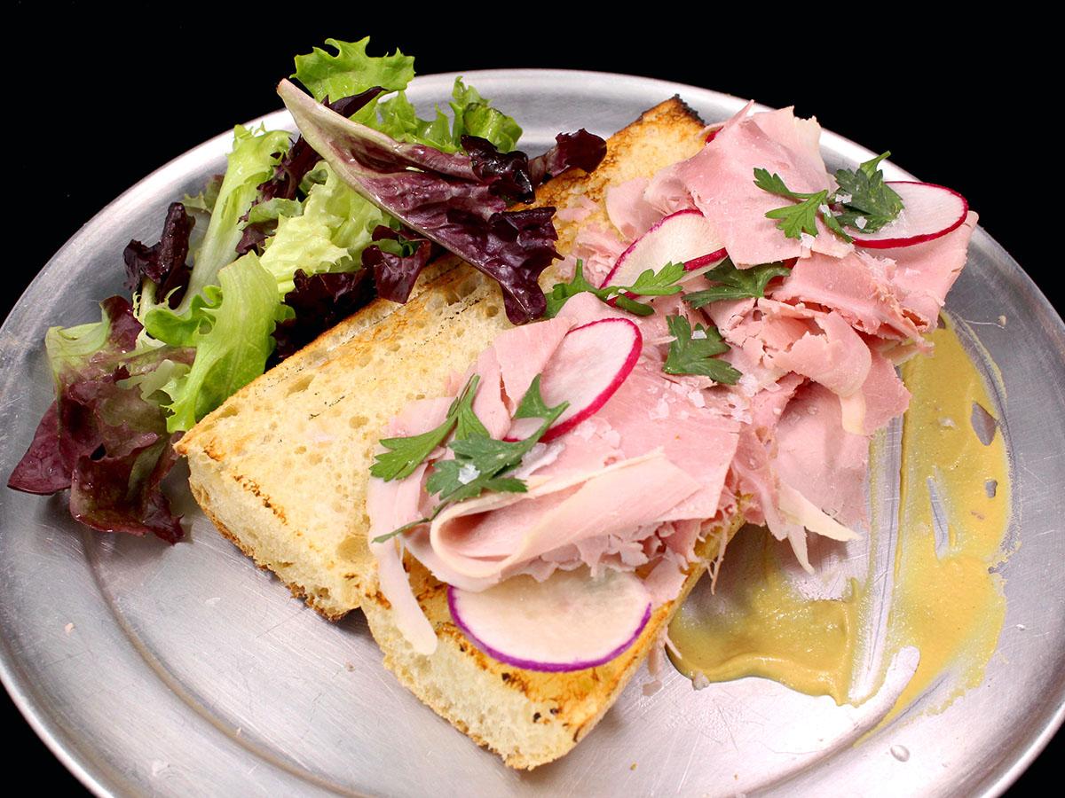 Jambon de Paris sandwich from Juliet