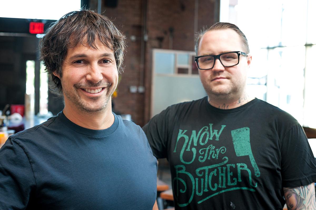 Chefs Ken Oringer (L) and Jamie BIssonnette. / Photo by Noah Fecks