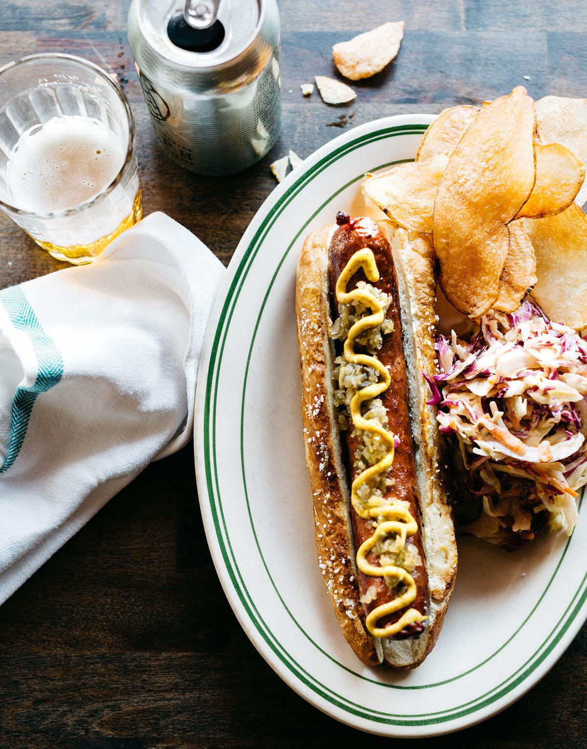 Kirkland Tap & Trotter hot dog