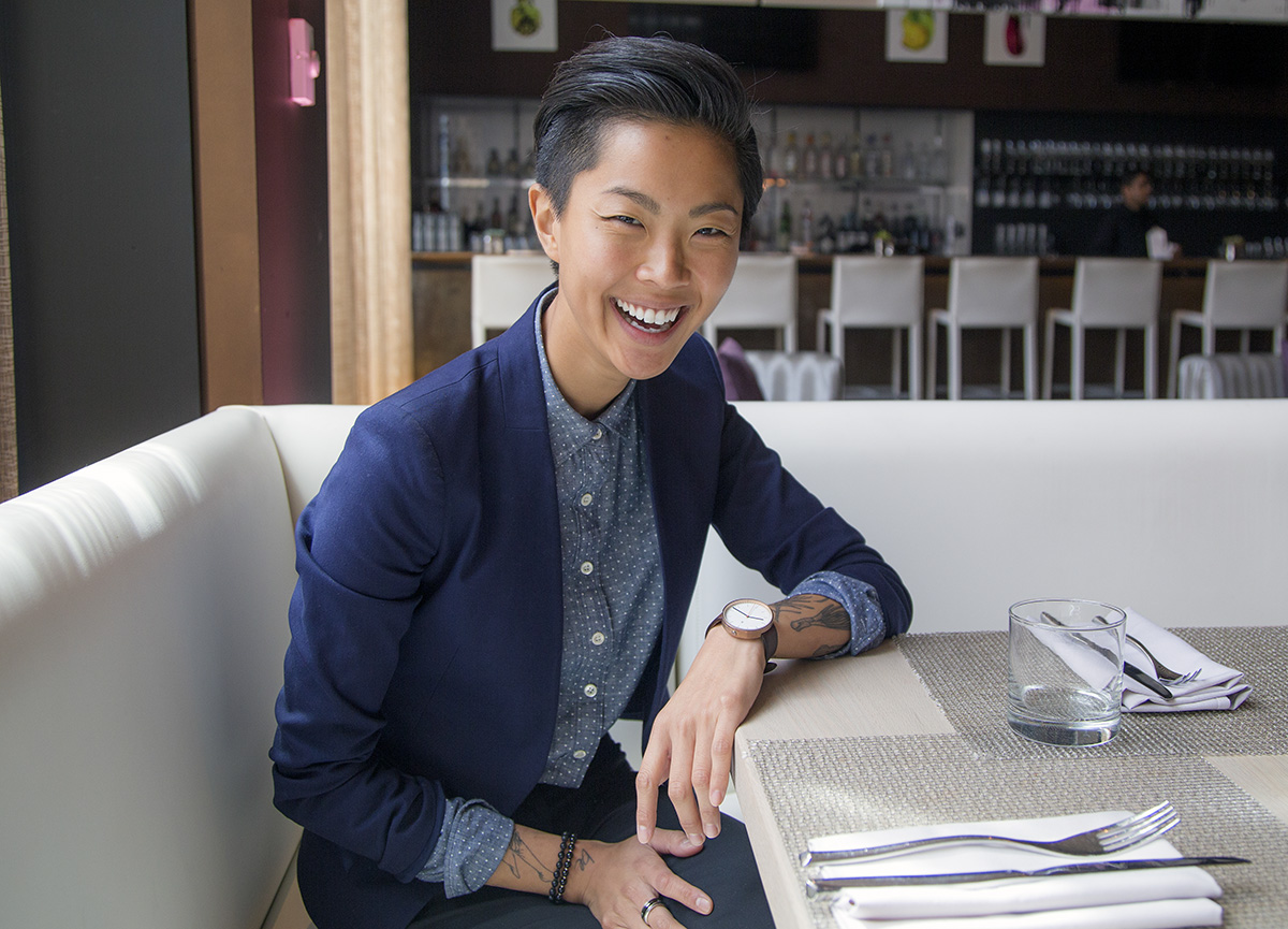 Kristen Kish at the W Hotel Boston
