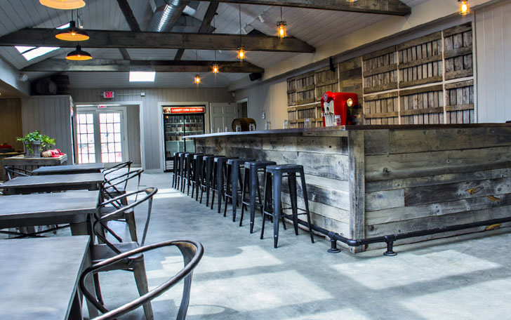 The Belkin Family Lookout Farm Hard Cider Taproom