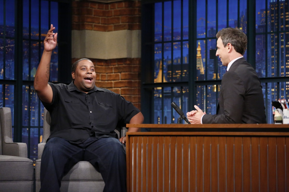Kenan Thompson on Late Night with Seth Meyers