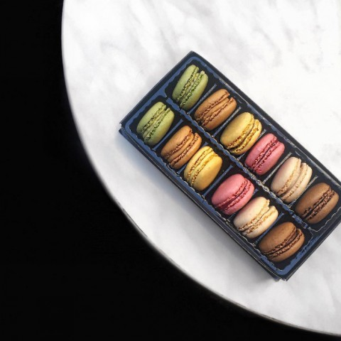 Macarons at Paul Bakery