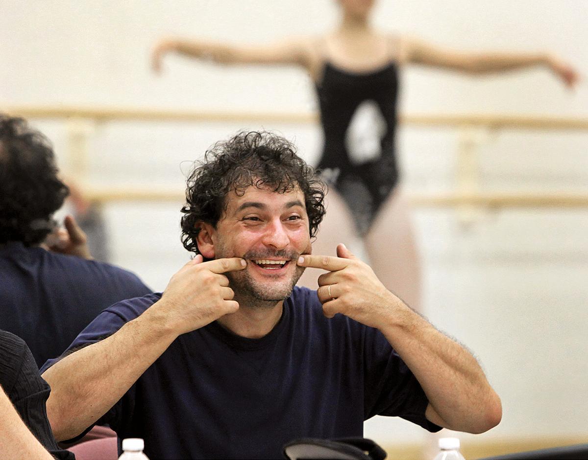 ballet master cosmin marculetiu