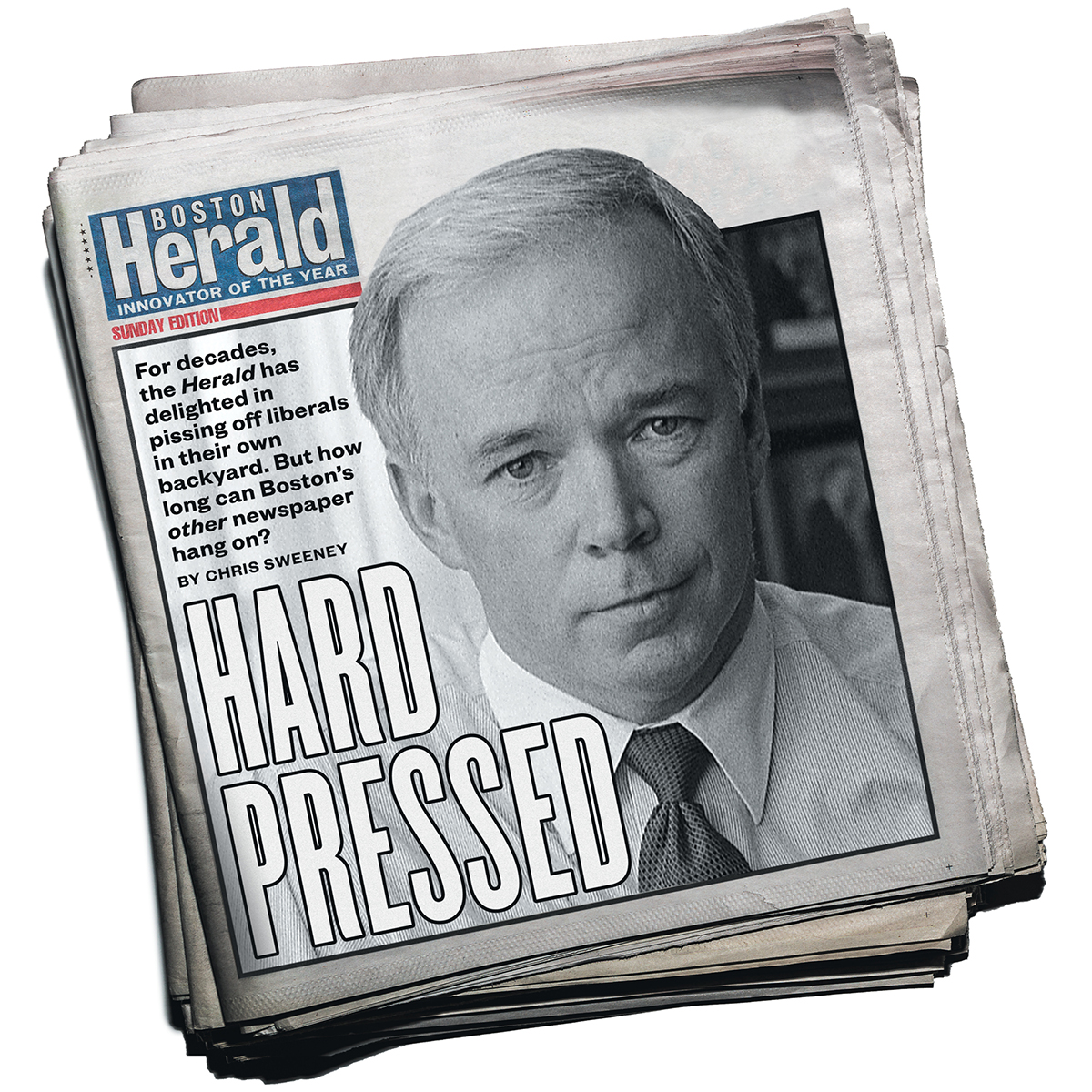 boston herald hard pressed