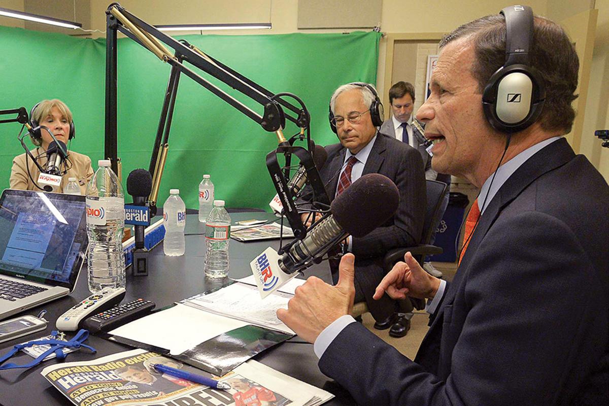 boston herald radio 2014 governor debate