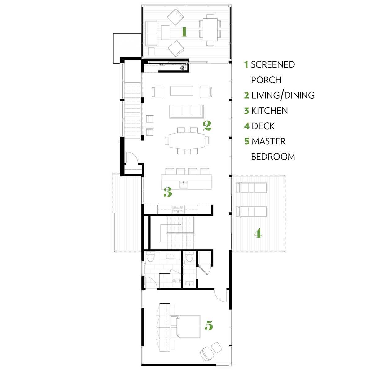 contemporary house truro layout