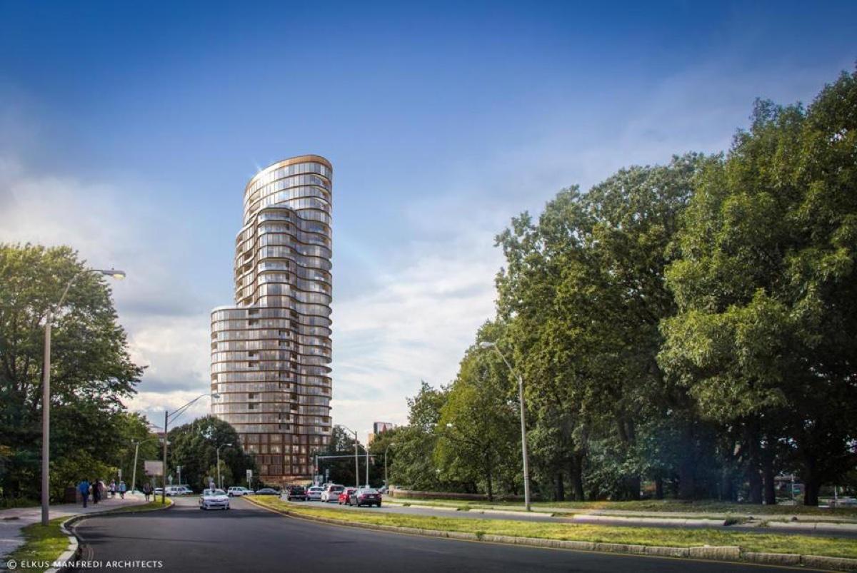 Rendering by Elkus Manfredi Architects