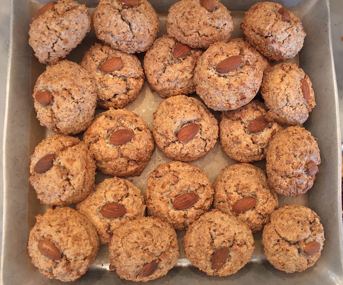Almond macaroons at Flour Bakery & Cafe