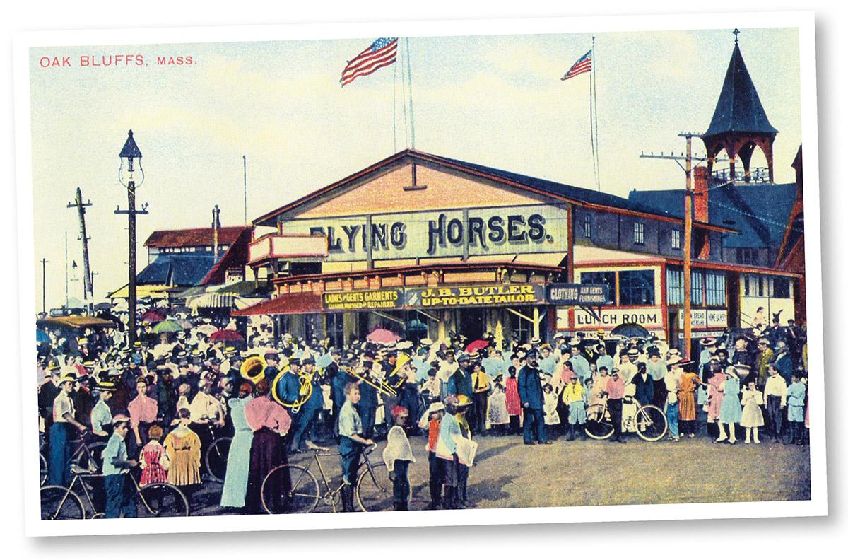 flying horses carousel marthas vineyard 1