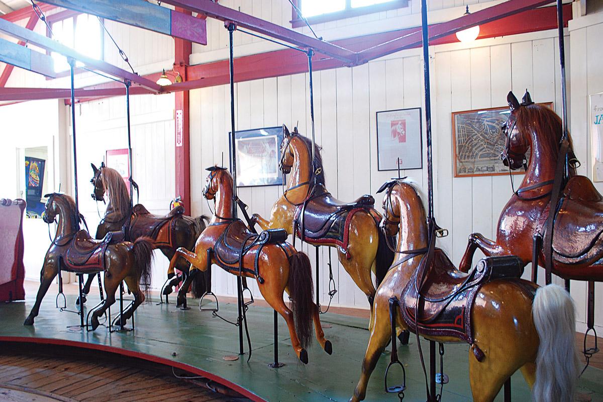flying horses carousel marthas vineyard 2