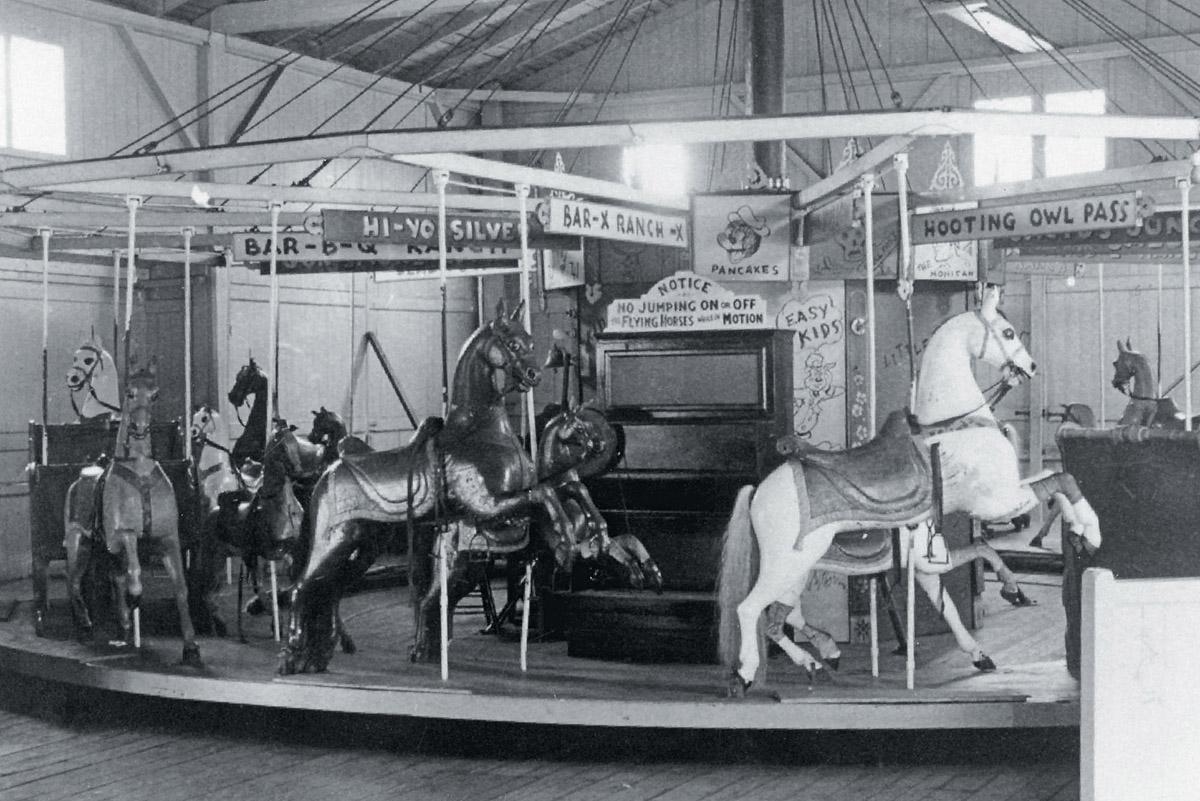 flying horses carousel marthas vineyard 3