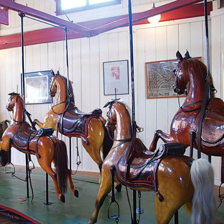 flying horses carousel marthas vineyard sq