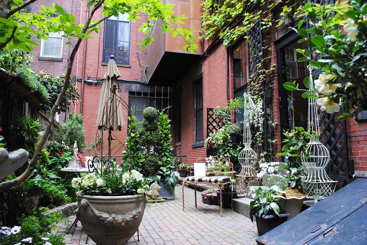 Photos From The Hidden Gardens Of Beacon Hill Boston