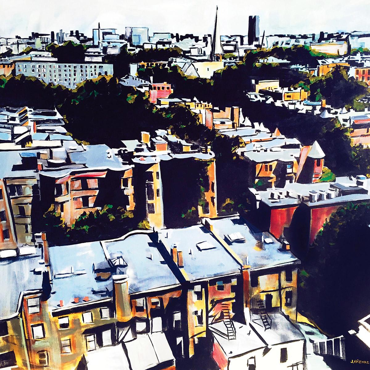 jodie baehre south end steeples painting