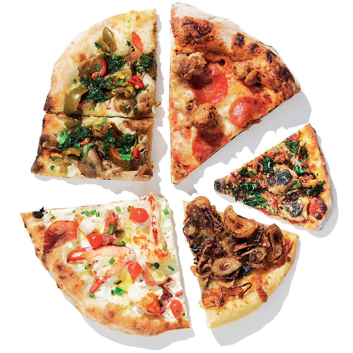 new pizzas