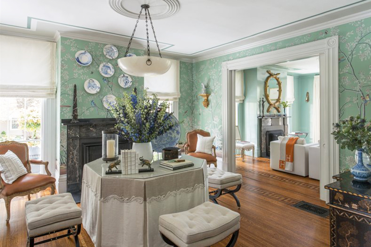 Photo courtesy of Gerald Pomeroy Interiors