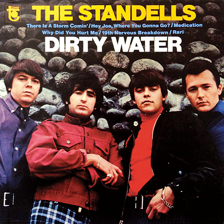 the standells dirty water album cover sq