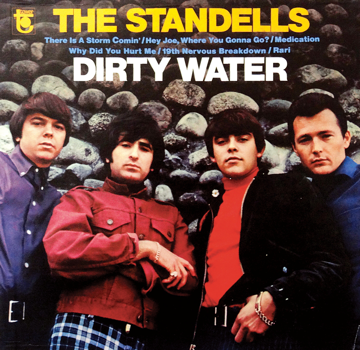 the standells dirty water album cover