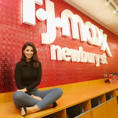 "BOSTON, MA - MAY 04:  Katherine Schwarzenegger attends T.J.Maxx Kicks Off the ""Road to Real,"" a Nationwide Tour to Share Inspiration From Women Across the Country on May 4, 2016 in Boston, Massachusetts.  (Photo by Scott Eisen/Getty Images for T.J. Maxx)"