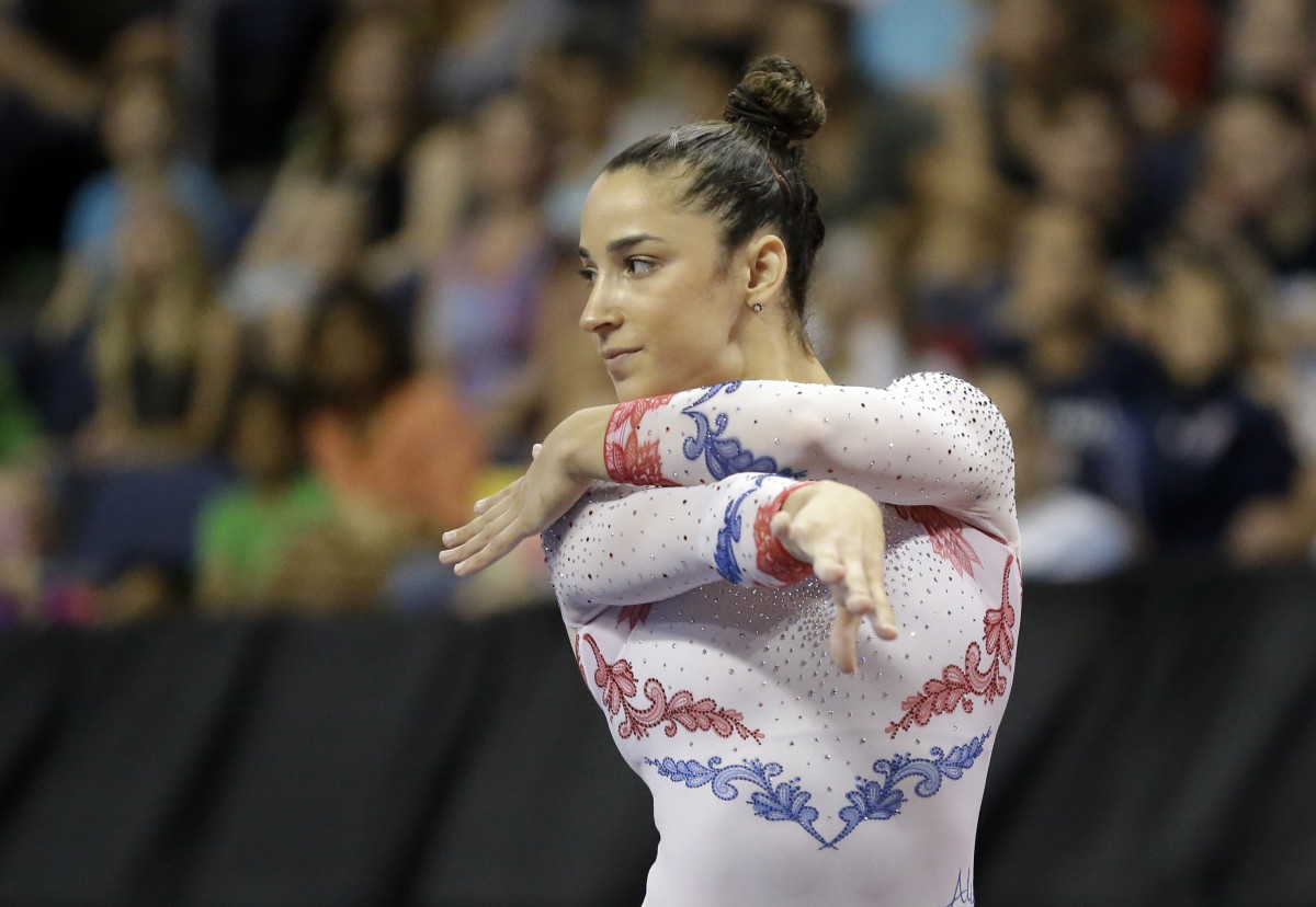 Aly Raisman Poses For The 2017 Si Swimsuit Issue