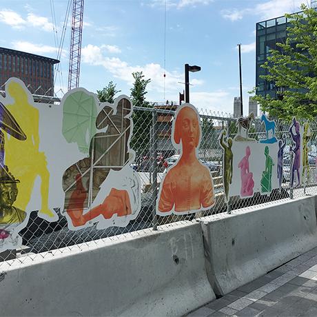 Geoffrey Farmer ICA public art square
