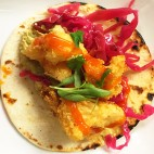 Crispy cauliflower tacos at Lolita Cocina & Tequlia Bar