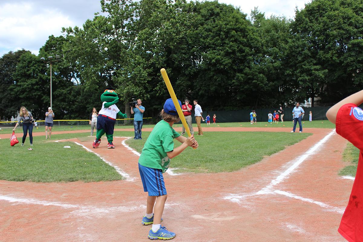(Baseball Game at Park)