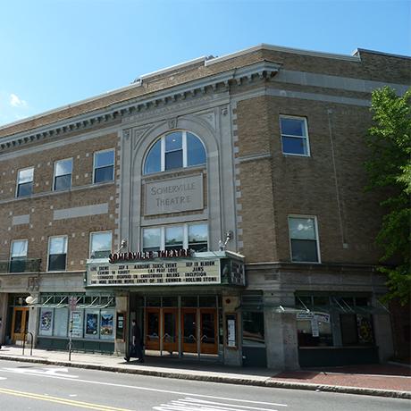 Somerville Theatre square
