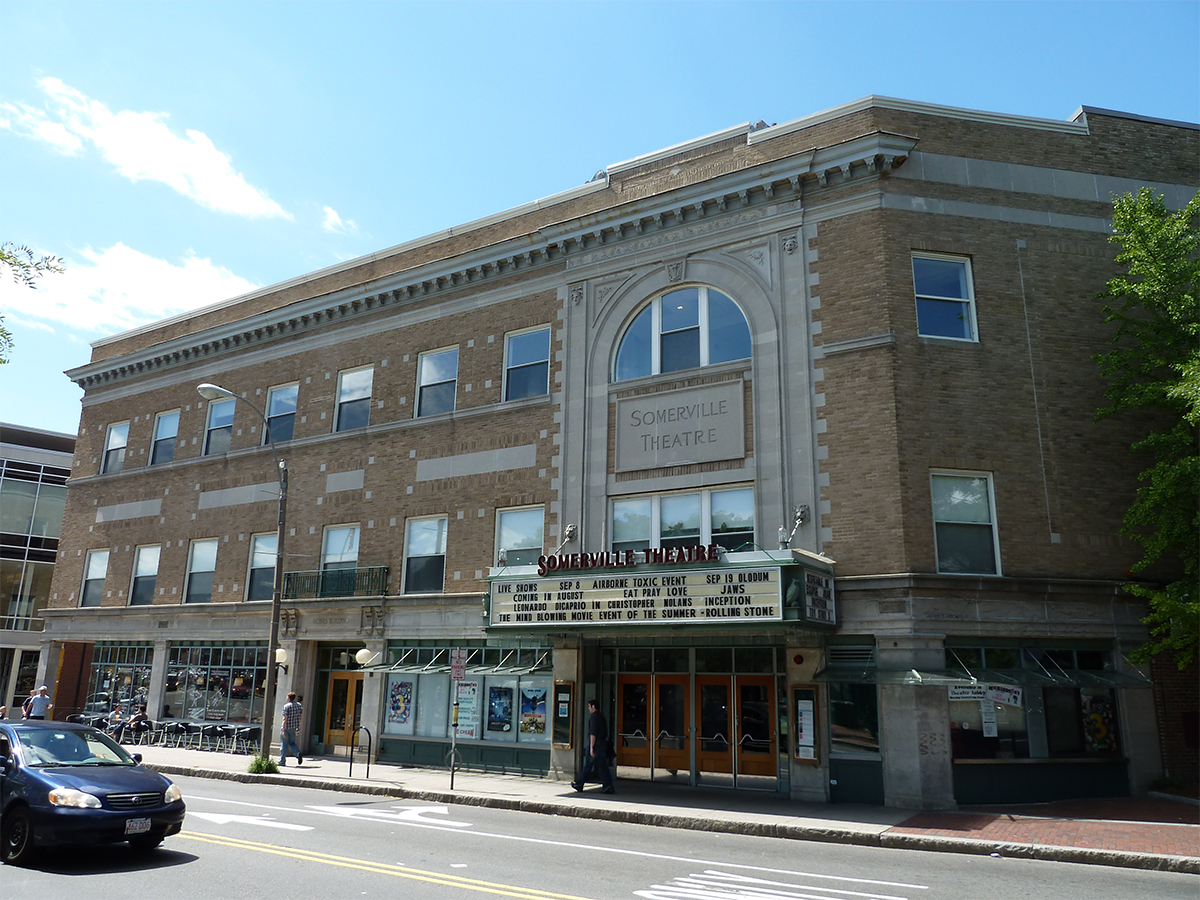 Somerville Theatre Hobbs Building by Jeff Myers via Flickr/Creative Commons