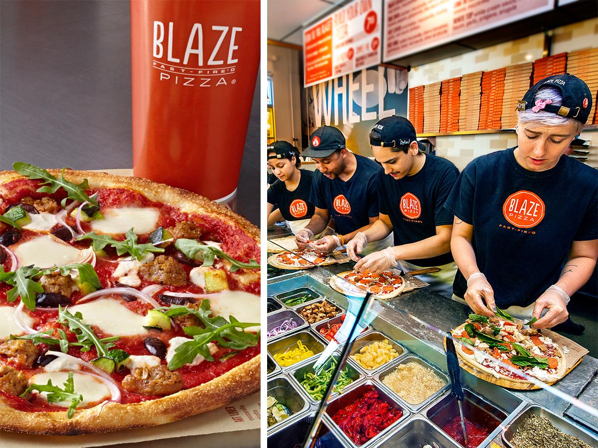 Blaze Pizza. / Photo provided.